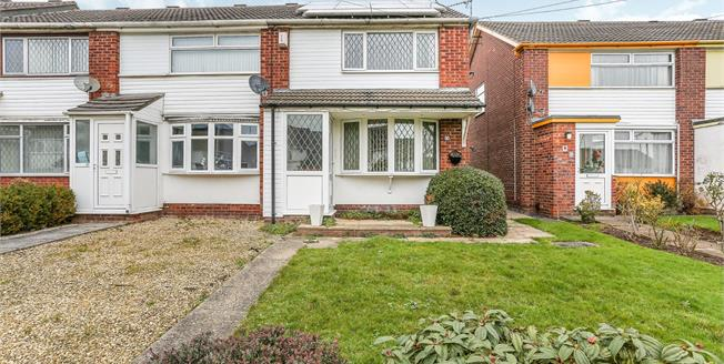 Offers Over £160,000, 2 Bedroom End of Terrace House For Sale in Binley, CV3