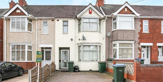 Offers Over £165,000, 3 Bedroom Terraced House For Sale in Coventry, CV6