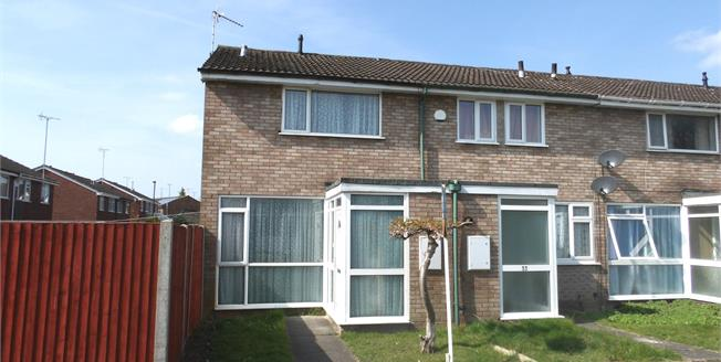 Offers Over £145,000, 2 Bedroom End of Terrace House For Sale in Coventry, CV2