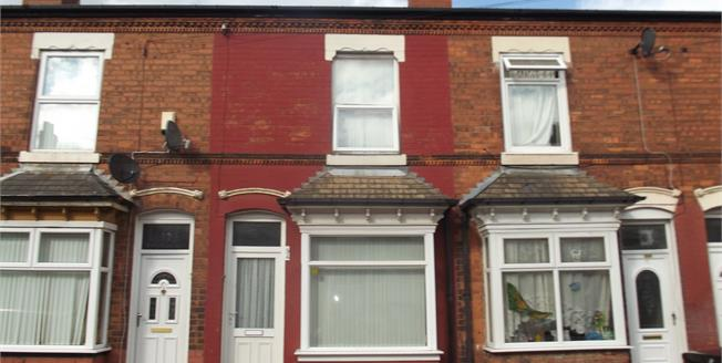 Offers Over £110,000, 3 Bedroom Terraced House For Sale in Birmingham, B6