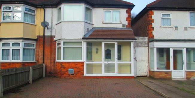 Fixed Price £160,000, 3 Bedroom Semi Detached House For Sale in Birmingham, B23