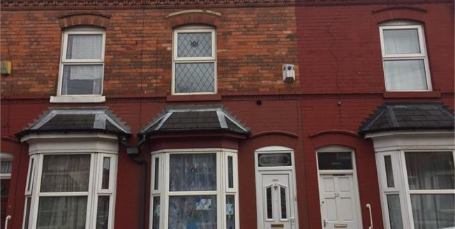 Offers Over £120,000, 4 Bedroom Terraced House For Sale in Aston, B6