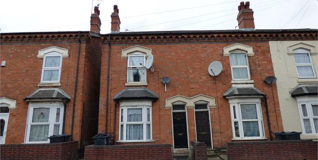 Offers Over £115,000, 3 Bedroom End of Terrace House For Sale in Birmingham, B6