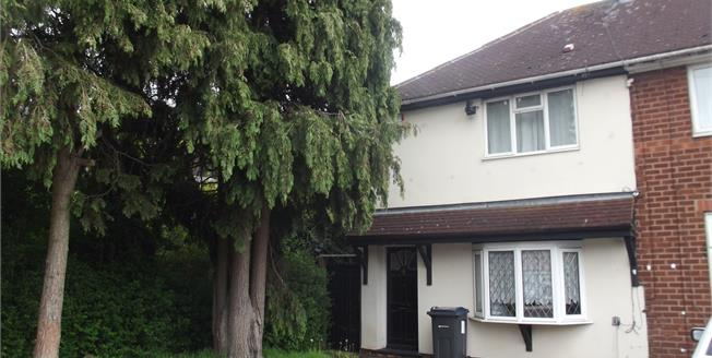 Offers Over £115,000, 3 Bedroom End of Terrace House For Sale in Birmingham, B23