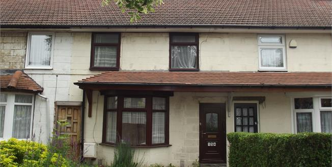 Offers Over £95,000, 3 Bedroom Terraced House For Sale in Birmingham, B23