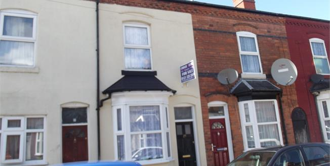 Asking Price £95,000, 2 Bedroom Terraced For Sale in Aston, B6