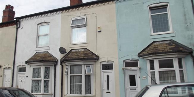 Asking Price £105,000, 3 Bedroom Terraced House For Sale in Birmingham, B6