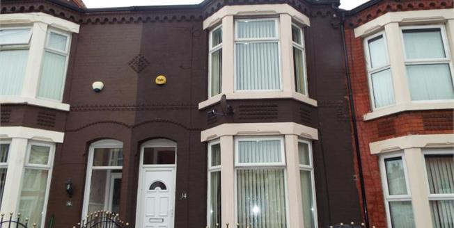Offers Over £75,000, 3 Bedroom Terraced House For Sale in Liverpool, L21