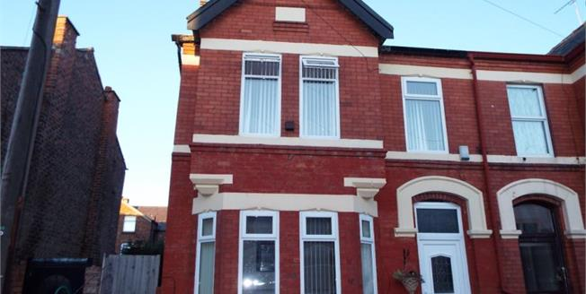 Offers Over £200,000, 5 Bedroom Semi Detached House For Sale in Waterloo, L22