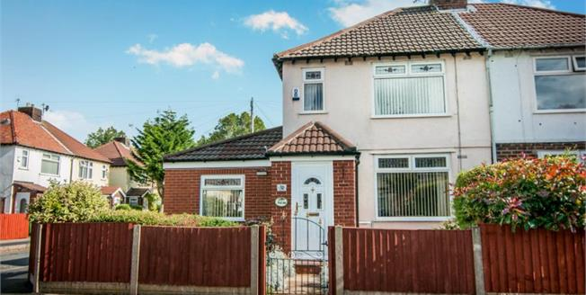 Offers Over £155,000, 3 Bedroom Semi Detached House For Sale in Liverpool, L23