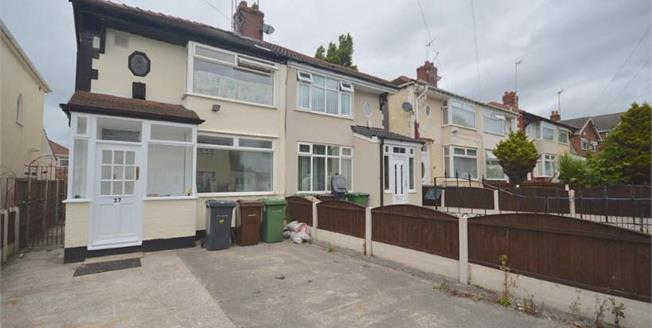 £139,950, 3 Bedroom Semi Detached House For Sale in Liverpool, L21