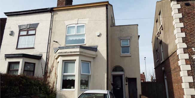 Asking Price £150,000, 4 Bedroom Semi Detached House For Sale in Seaforth, L21