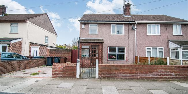 Offers Over £86,000, 3 Bedroom Semi Detached House For Sale in Bootle, L30