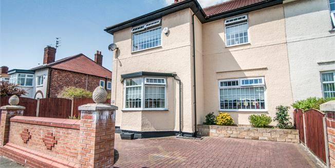 Offers Over £290,000, 4 Bedroom Semi Detached House For Sale in Liverpool, L23