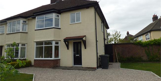 Offers Over £275,000, 3 Bedroom Semi Detached House For Sale in Crosby, L23