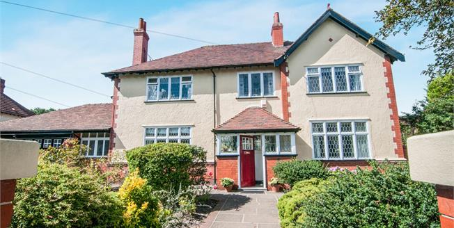 Asking Price £550,000, 4 Bedroom Detached House For Sale in Liverpool, L23