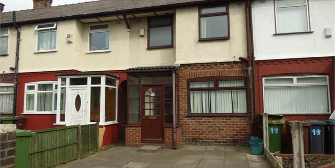 Offers Over £55,000, 2 Bedroom Terraced House For Sale in Liverpool, L21