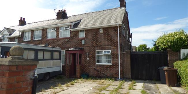 Asking Price £130,000, 3 Bedroom Semi Detached House For Sale in Ford, L21