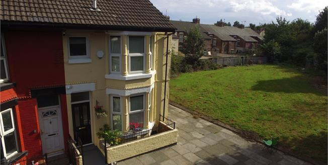 Asking Price £70,000, 3 Bedroom End of Terrace House For Sale in Liverpool, L21