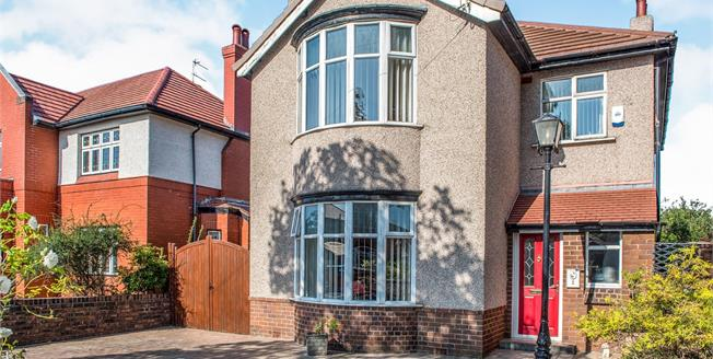 Offers Over £460,000, 4 Bedroom Detached House For Sale in Crosby, L23