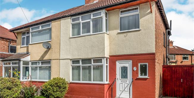 Offers Over £170,000, 3 Bedroom Semi Detached House For Sale in Liverpool, L23