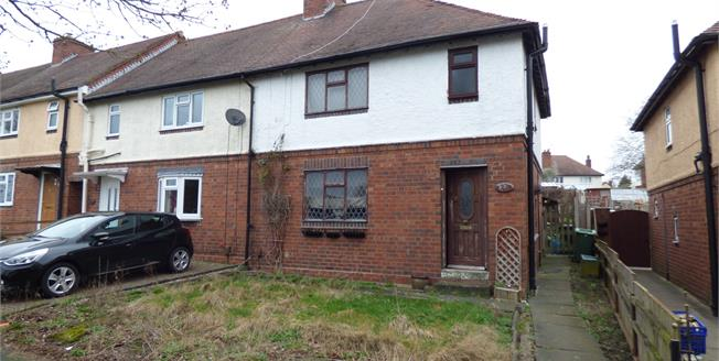 Offers Over £140,000, 3 Bedroom End of Terrace House For Sale in Halesowen, B63