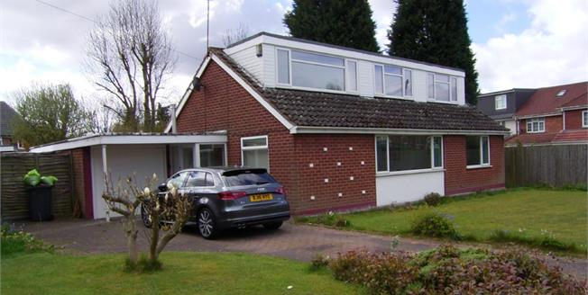 Asking Price £270,000, 4 Bedroom Detached Bungalow For Sale in Birmingham, B36