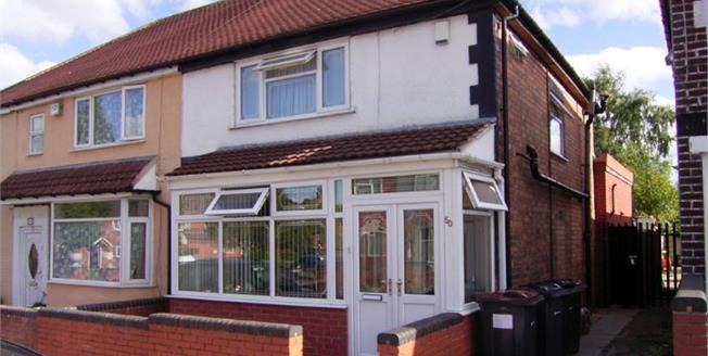 £150,000, 3 Bedroom Semi Detached House For Sale in West Midlands, B8