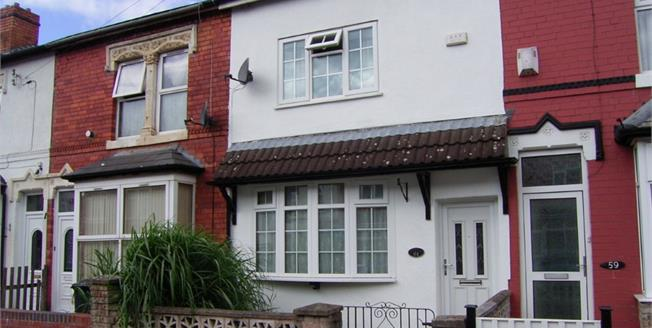 Asking Price £130,000, 3 Bedroom Terraced House For Sale in Birmingham, B8