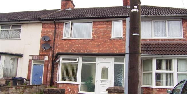 Asking Price £125,000, 3 Bedroom Terraced House For Sale in Birmingham, B9