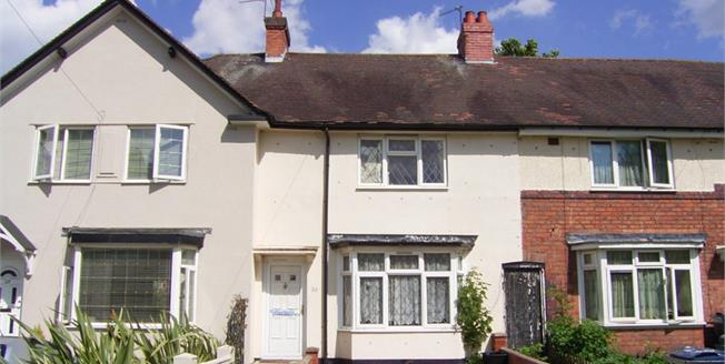 Guide Price £119,950, 3 Bedroom Terraced House For Sale in Birmingham, B8