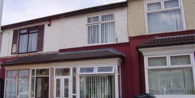 Guide Price £135,000, 3 Bedroom Terraced House For Sale in Birmingham, B8