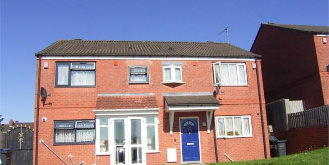 Guide Price £185,000, 3 Bedroom Semi Detached House For Sale in Saltley, B8