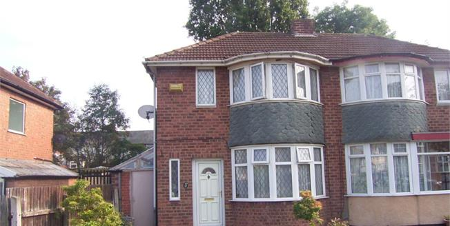 Guide Price £115,000, 2 Bedroom Semi Detached House For Sale in Birmingham, B8