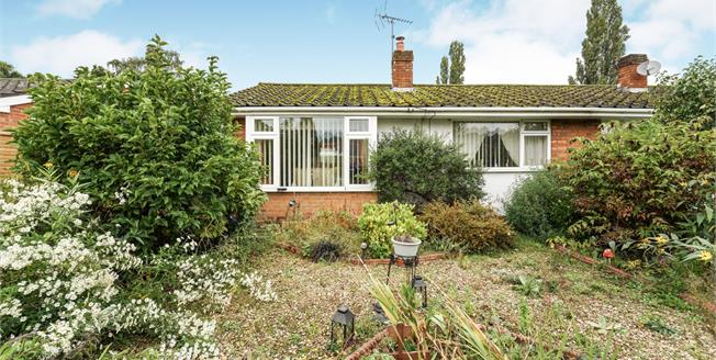 Offers Over £165,000, 2 Bedroom Semi Detached Bungalow For Sale in Stourport-on-Severn, DY13