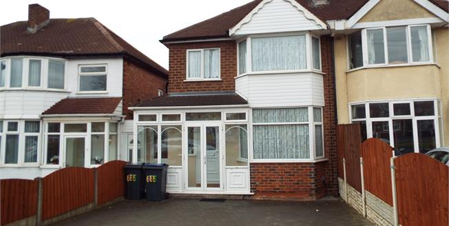 Offers Over £155,000, 3 Bedroom Semi Detached House For Sale in Great Barr, B44