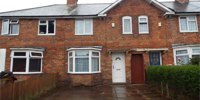 Offers in the region of £100,000, 3 Bedroom Terraced House For Sale in Birmingham, B44