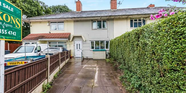 Offers Over £110,000, 3 Bedroom Terraced House For Sale in Birmingham, B44
