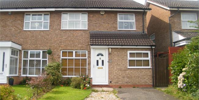 Offers in excess of £170,000, 3 Bedroom Semi Detached House For Sale in Birmingham, B38