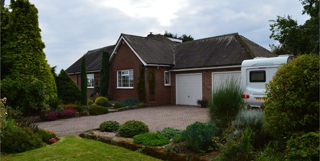 £470,000, 4 Bedroom Detached Bungalow For Sale in Croxall, WS13