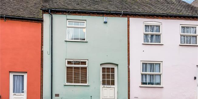 Asking Price £175,950, 2 Bedroom Terraced House For Sale in Lichfield, WS13