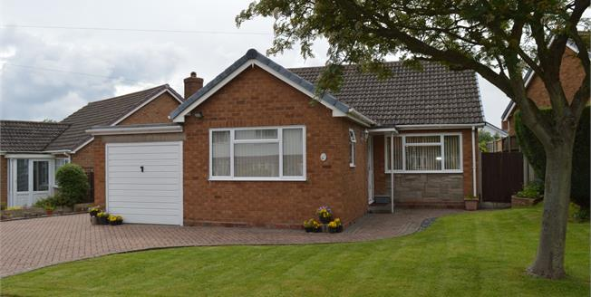 Asking Price £310,000, 3 Bedroom Detached Bungalow For Sale in Lichfield, WS14