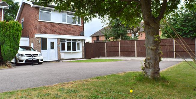 Offers in the region of £270,000, 3 Bedroom Detached House For Sale in Fradley, WS13
