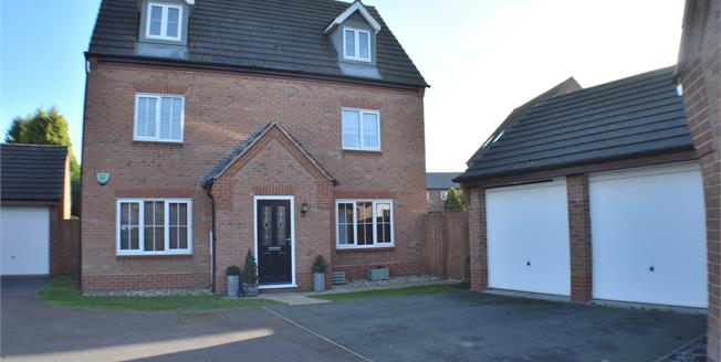Offers Over £425,000, 5 Bedroom Detached House For Sale in Fradley, WS13