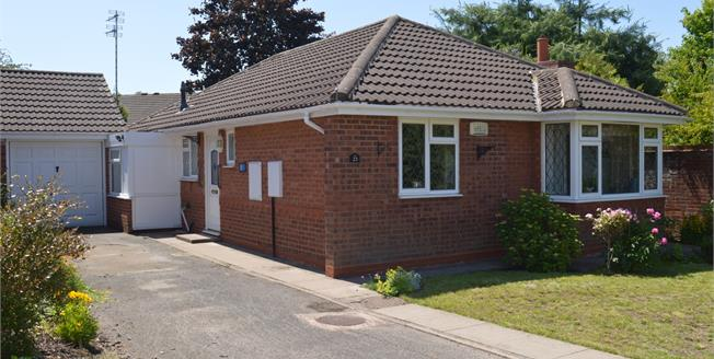 Offers Over £350,000, 3 Bedroom Detached Bungalow For Sale in Lichfield, WS14