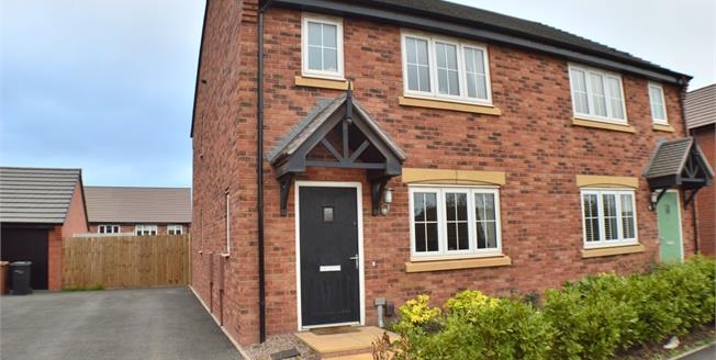Asking Price £270,000, 3 Bedroom Semi Detached House For Sale in Streethay, WS13