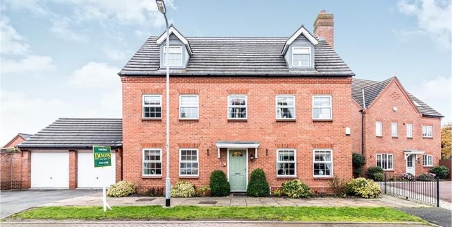 Asking Price £469,950, 5 Bedroom Detached House For Sale in Fradley, WS13