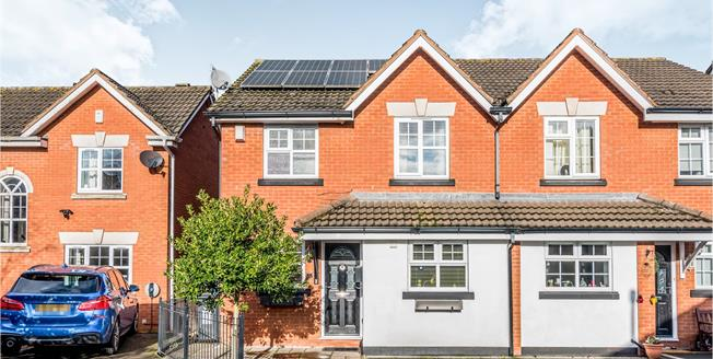 Asking Price £270,000, 3 Bedroom Semi Detached House For Sale in Lichfield, WS13