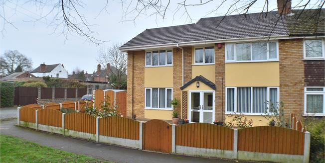 Asking Price £375,000, 4 Bedroom Semi Detached House For Sale in Lichfield, WS13