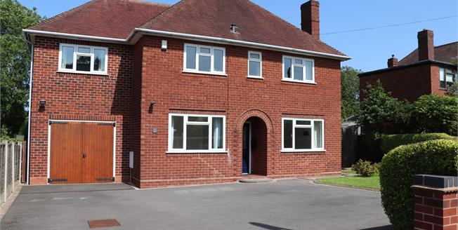 £415,000, 4 Bedroom Detached House For Sale in Lichfield, WS13